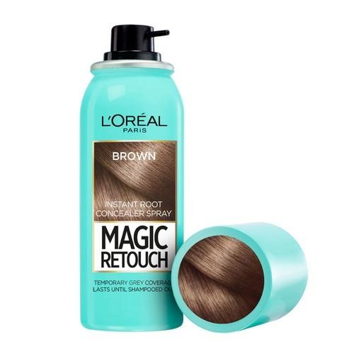 L´Oréal Paris Vlasový korektor šedin a odrostů Magic Retouch (Instant Root Concealer Spray) 75 ml - SLEVA - poškozený obal 11 Dark Blonde