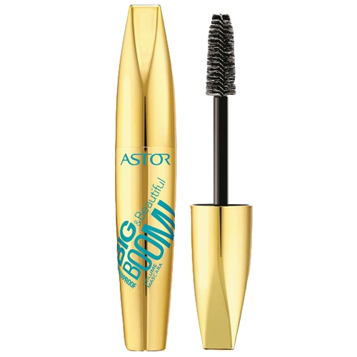 Astor Voděodolná objemová řasenka BIG & Beautiful BOOM! Waterproof 12 ml Black