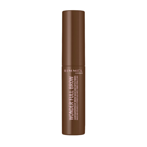 Rimmel Voděodolná řasenka na obočí Wonder´Full 24H (Brow Mascara) 4,5 ml 01 Light