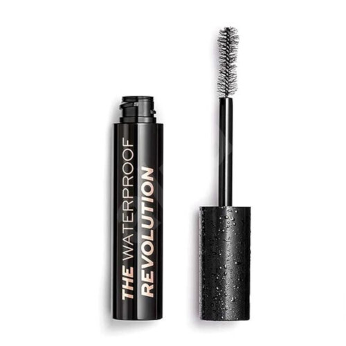 Revolution Vodeodolná riasenka pre objem a dĺžku The Waterproof Revolution (Mascara) 8 ml Black
