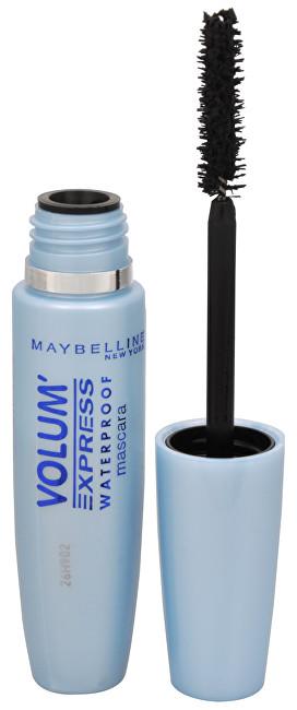 Maybelline Voděodolná řasenka pro okamžitý objem Volum Express Waterproof 8,5 ml Black