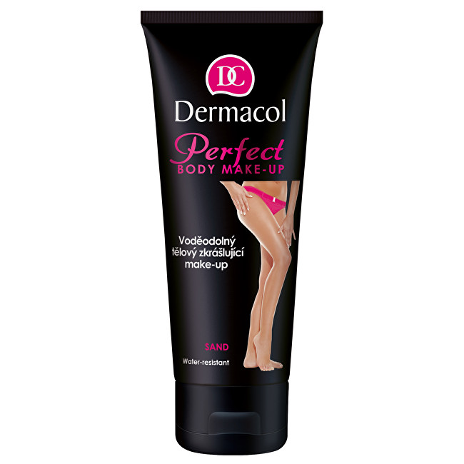 Dermacol Vodeodolný skrášľujúce telový make-up (Perfect Body Make-up) 100 ml Sand