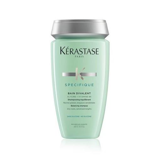 Kérastase Vyvažující šampon pro mastnou vlasovou pokožku a oslabené vlasy Bain Divalent (Balancing Shampoo Oily Roots - Sensitised Lenghts) 250 ml