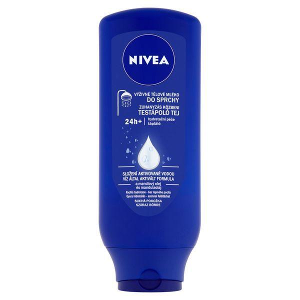 Nivea Výživné tělové mléko do sprchy pro suchou pokožku 400 ml