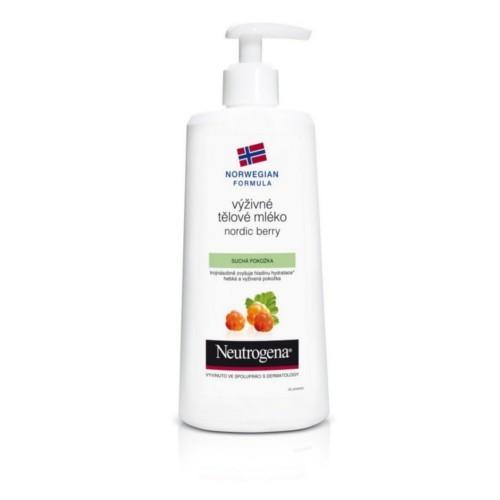 Neutrogena Výživné tělové mléko na suchou pokožku Nordic Berry 400 ml