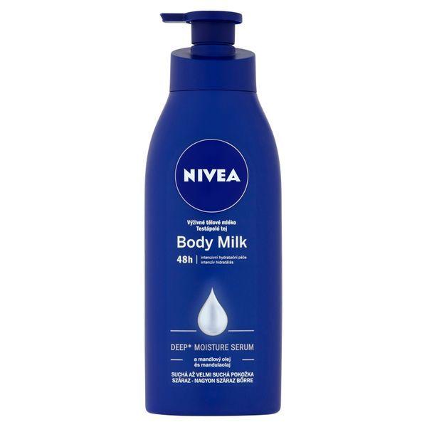 Nivea Výživné tělové mléko pro suchou až velmi suchou pokožku (Body Milk) 400 ml