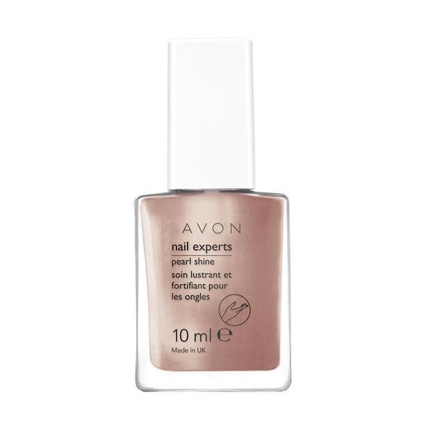 Avon Vyživující komplex pro perlový lesk nehtů Nail Experts 10 ml Sheer Lilac