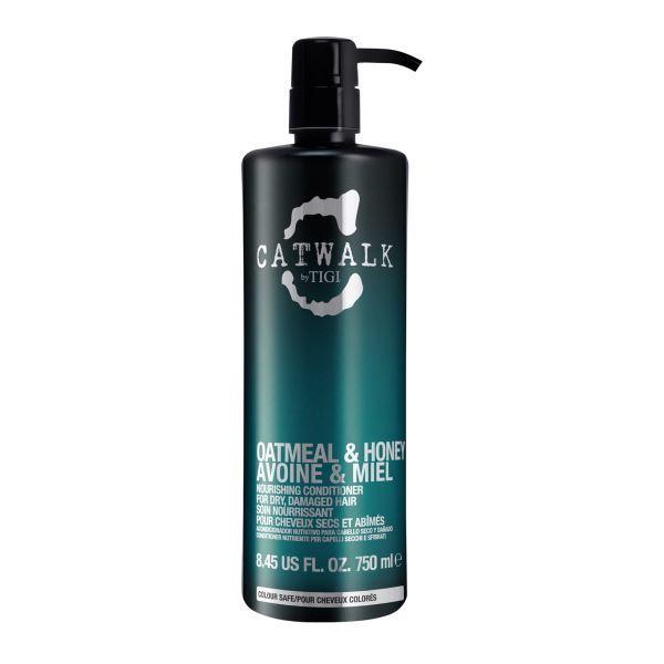 Tigi Vyživující kondicionér na suché a poškozené vlasy Catwalk Oatmeal & Honey (Nourishing Conditioner) 750 ml
