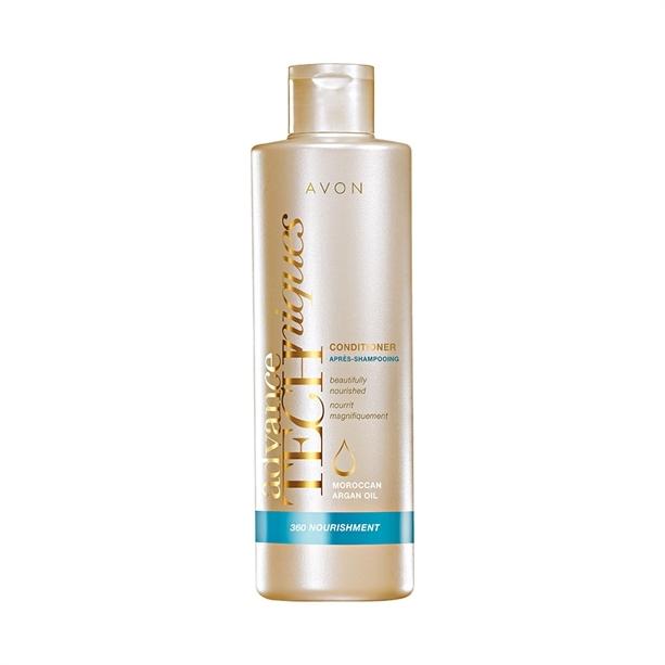 Avon Vyživující kondicionér s marockým arganovým olejem pro všechny typy vlasů Advance Techniques (360 Nourishment Moroccan Argan Conditioner) 250 ml