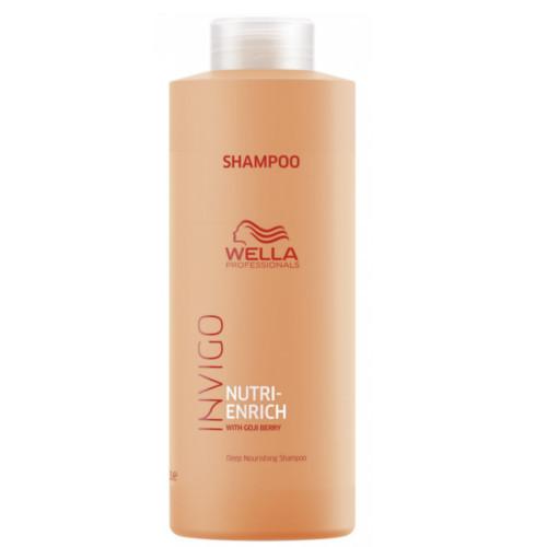 Wella Professionals Vyživující šampon pro suché a poškozené vlasy Invigo Nutri-Enrich (Deep Nourishing Shampoo) 50 ml