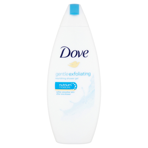 Dove Vyživujúce sprchový gél Gentle Exfoliating (Nourishing Shower Gel) 250 ml