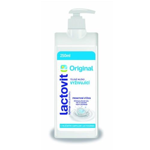 Lactovit Vyživující tělové mléko Original 250 ml