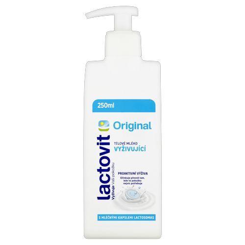 Lactovit Vyživujúce telové mlieko Original 400 ml