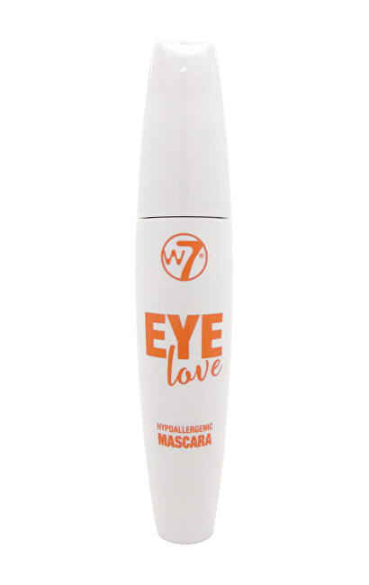 W7 Cosmetics Objemová řasenka Eye Love Hypoallergenic Mascara 15 ml Black
