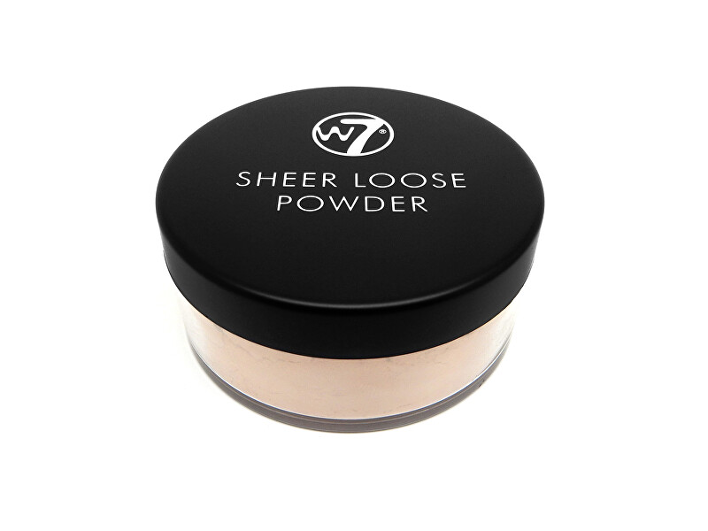 W7 Cosmetics Sypký pudr Sheer Loose Powder 16 g Ivory