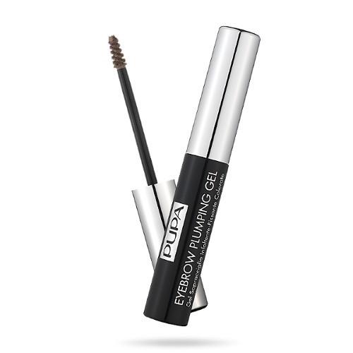 Pupa Zahušťující a fixační gel na obočí (Eyebrow Plumping Gel) 4 ml 003 Dark Brown