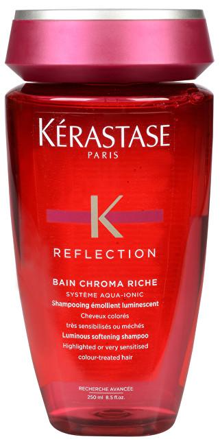 Kérastase Zjemňující šampon pro suché barvené a zesvětlované vlasy Bain Chroma Riche (Luminous Softening Shampoo for Dry Highlighted or Color-Treated Hair) 250 ml