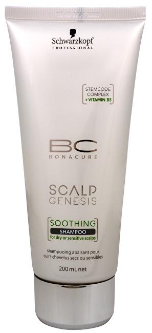 Schwarzkopf Professional Zklidňující šampon pro suchou a citlivou vlasovou pokožku BC Bonacure Scalp Genesis (Soothing Shampoo) 200 ml