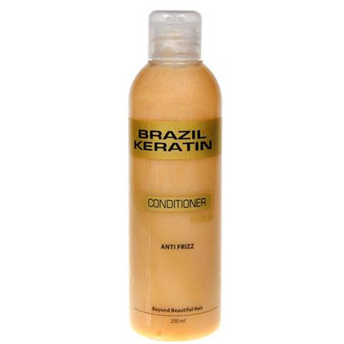 Brazil Keratin Zlatý kondicionér pro poškozené vlasy (Conditioner Anti-Frizz Gold) 300 ml