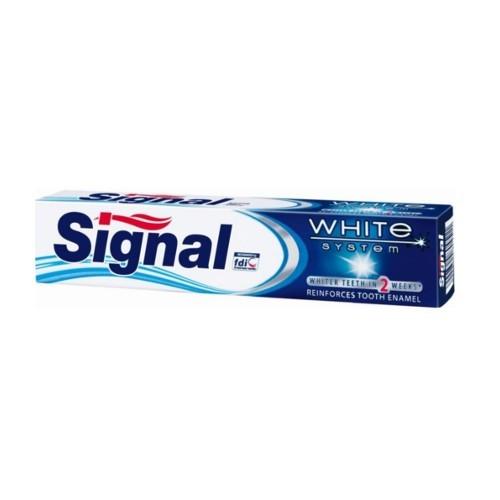 Signal Zubní pasta s bělicím účinkem White System 75 ml