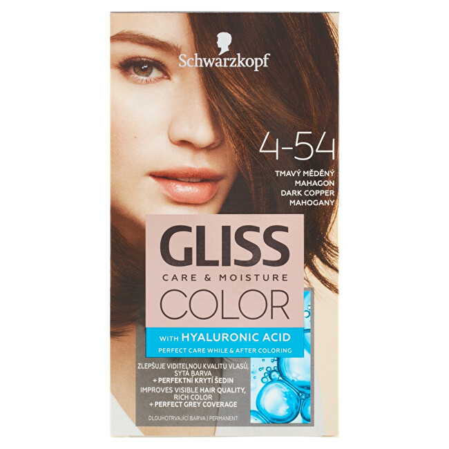 Schwarzkopf Zvýhodnené balenie Permanentná farba na vlasy Gliss Color 3 ks Balení 3 ks - 7-00 Tmavá béžová blond