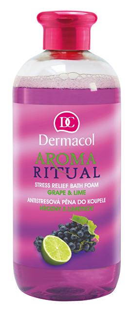 Dermacol Antistresová pěna do koupele hrozny s limetkou Aroma Ritual 500 ml