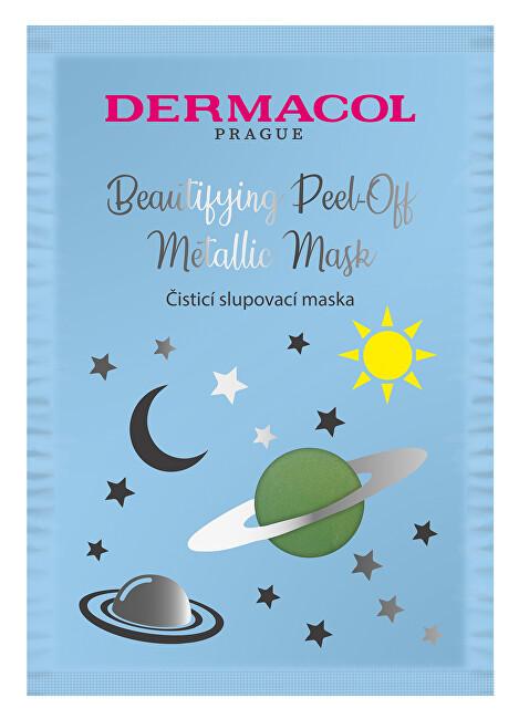 Dermacol Čisticí slupovací maska (Beautifying Brightening Peel-Off Metallic Mask) 15 ml