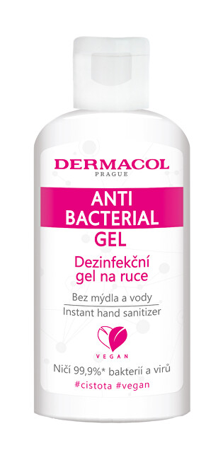 Dermacol Dezinfekčný gél na ruky (Anti Bacterial Gel) 50 ml