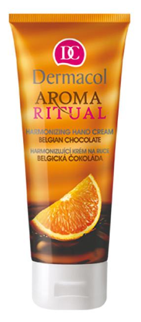 Fotografie Dermacol Harmonizující krém na ruce Belgická Čokoláda 100 ml