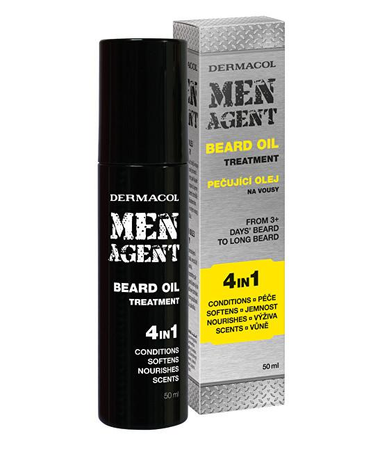 Dermacol Ulei pentru barbăMen Agent (Beard Oil) 50 ml