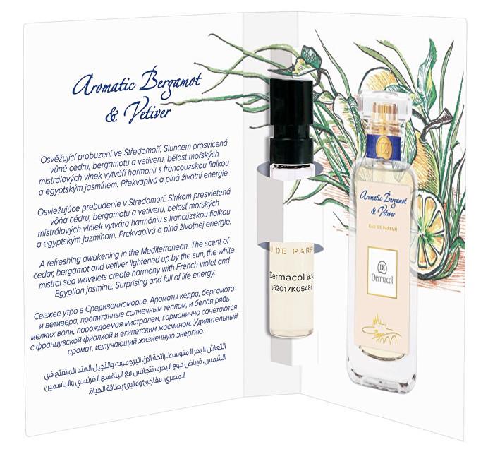Dermacol Parfémovaná voda Aromatic Bergamot & Vetiver tester 2 ml