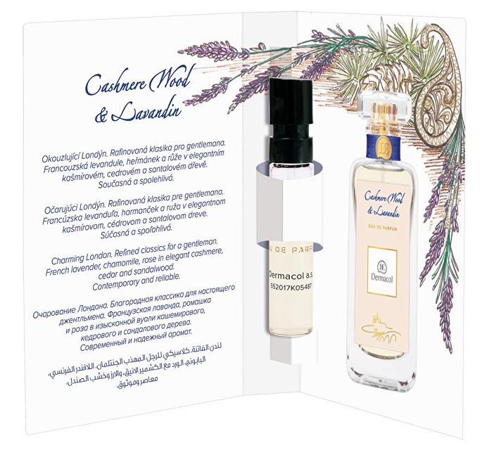 Dermacol Parfémovaná voda Cashmere Wood & Levandin tester 2 ml