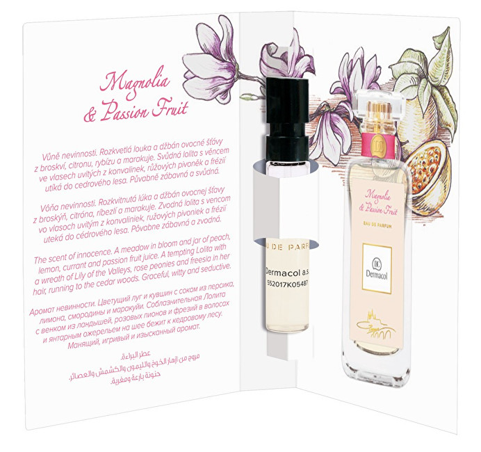 Dermacol Magnolia and Passion Fruit parfumovaná voda dámska 2 ml vzorka