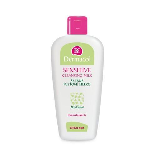 Dermacol Šetrné pleťové mléko s výtažkem z oliv pro citlivou pleť (Sensitive Cleansing Milk) 200 ml