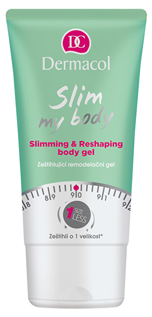 Dermacol Zeštíhlující remodelační gel Slim My Body (Slimming & Reshaping Body Gel) 150 ml