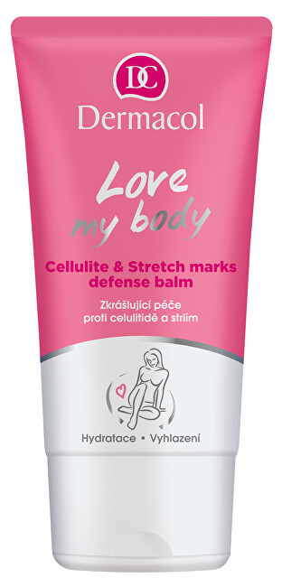 Dermacol Skrášľujúca starostlivosť proti celulitíde a striám Love My Body (Celluli te & Stretch Mark s Defense Balm) 150 ml