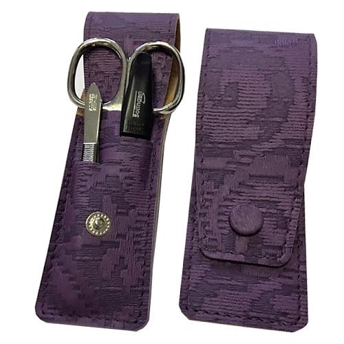 DuKaS Cestovní manikúrová sada 3 dílná fialová PL893