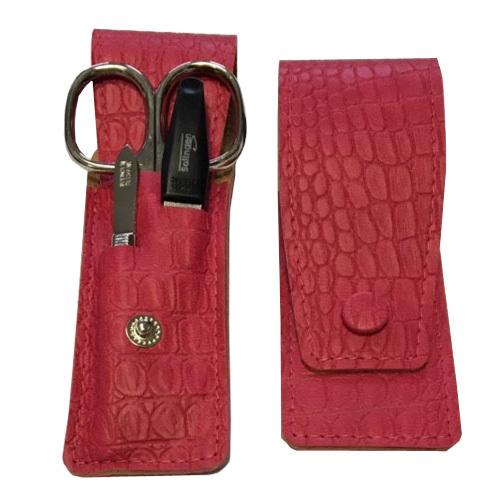 DuKaS Cestovní manikúrová sada 3 dílná růžová PL892
