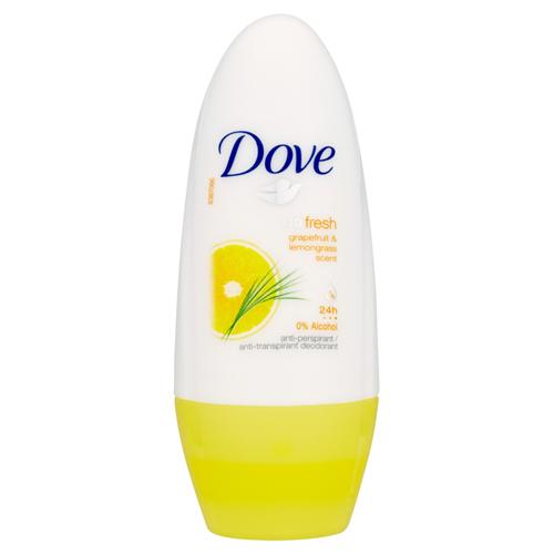 Dove Antiperspirant roll-on Go Fresh s vůní grapefruitu a citronové trávy 50 ml
