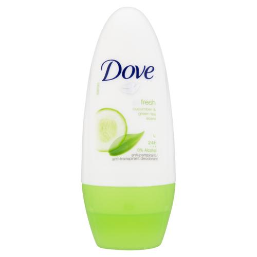 Dove Antiperspirant roll-on Go Fresh s vůní okurky a zeleného čaje 50 ml
