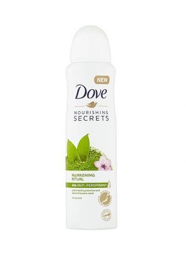 Dove Antiperspirant ve spreji matcha a květ sakury (Matcha and Sakura Antiperspirant) 150 ml