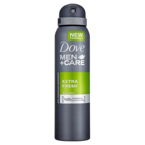 Dove Antiperspirant ve spreji Men+Care Extra Fresh 150 ml