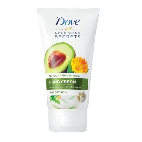 Dove Avokádový krém na suché ruky Nourishing Secrets (Hand Cream) 75 ml