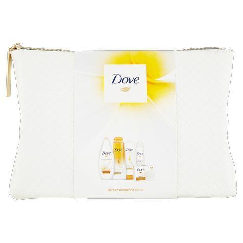 Dove Darčeková sada vyživujúce kozmetiky Perfect Pampering (Pampering Gift Set+Bag)