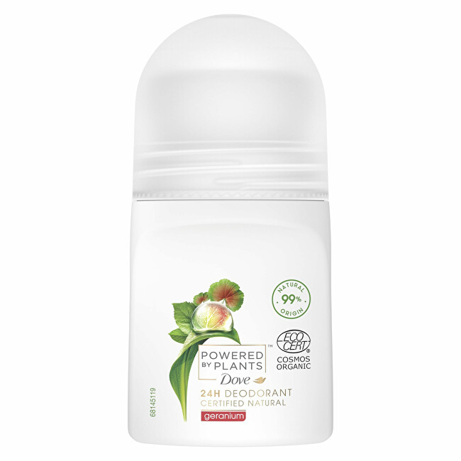 Dove Deodorant roll-on Pelargonie Powered by Plants Geranium (24H Deodorant) 50 ml