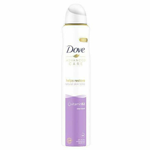 Dove Antiperspirant ve spreji Clean Touch 200 ml