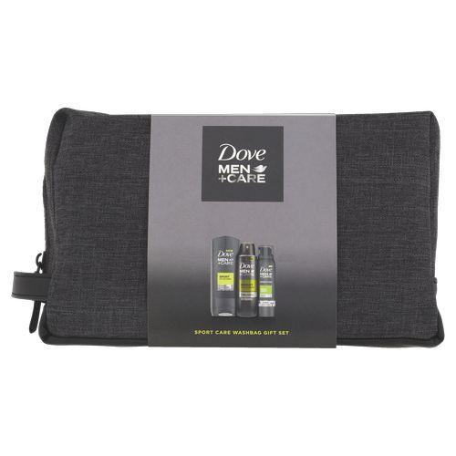 Dove Kosmetická sada péče o tělo pro muže + toaletní taška Men+Care (Active Fresh)