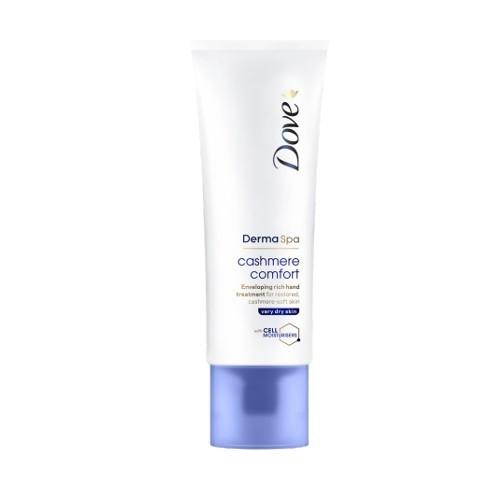 Dove Krém na ruky pre suchú pokožku Derma Spa Cashmere Comfort (Hand Cream) 75 ml