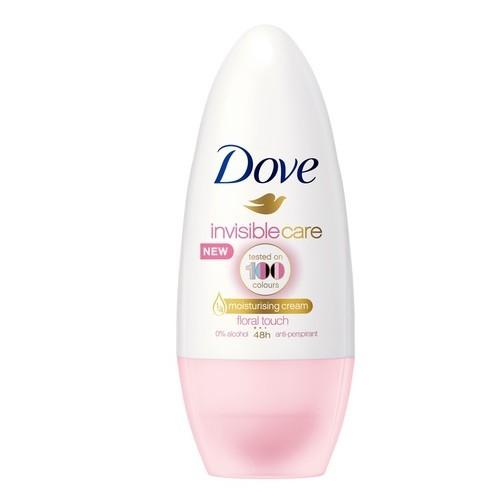 Dove Kuličkový antiperspirant Invisible Care Floral Touch 50 ml