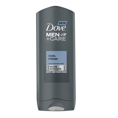Dove Gel de dușMen+Care Cool Fresh (Body And Face Wash) 400 ml pentru bărbați